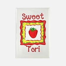 Sweet Tori Rectangle Magnet