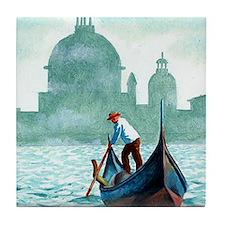 VENETIAN WATERS * Tile Coaster