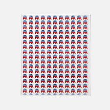 Republican GOP Party Elephant Throw Blanket