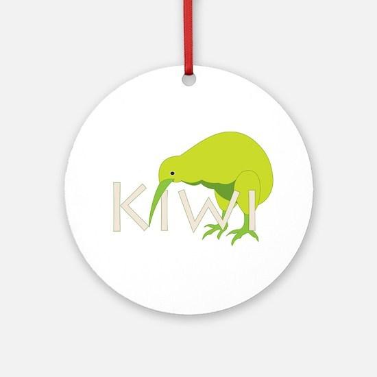 Kiwi Designs Ornament (Round)
