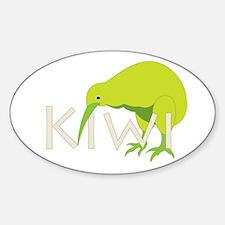 Kiwi Designs Oval Decal
