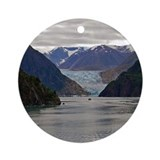Alaska photography Round Ornaments