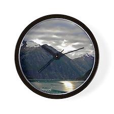 Tracy Arm Fjord Wall Clock