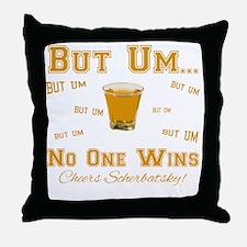 But-Um Throw Pillow