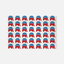 Republican GOP Part... Rectangle Magnet