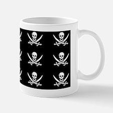 Calico Jacks Pirate Flag Pattern Mug