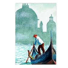 VENETIAN WATERS * Postcards (Package of 8)