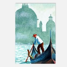 VENETIAN WATERS * Postcards (Package of 8)