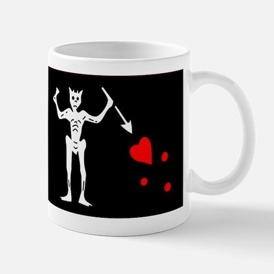 Blackbeard Pirate Flage Edward Teach Mug