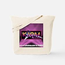 T-shirt KJEM Radio Logo Pink Spotlight we Tote Bag
