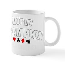 World Champ team solitaire white Mug