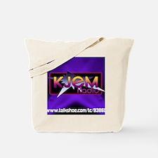 T-shirt KJEM Radio Logo Purple Spotlight  Tote Bag