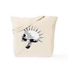 spike skull punk rock Tote Bag