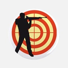 """shooting sports 3.5"""" Button"""