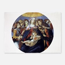 Madonna of the Pomegranate - Botticelli 5'x7'Area