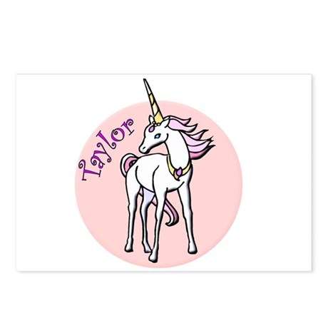 Taylor Unicorn Postcards (Package of 8)