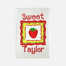 Sweet Taylor Rectangle Magnet