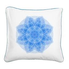 Cute Chakra Square Canvas Pillow