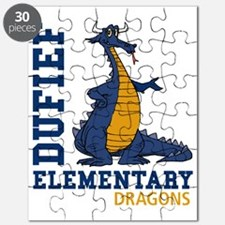 Dufef Elementary Dragons Puzzle