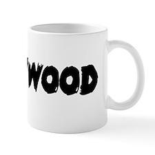 Hillbillywood large black Mug