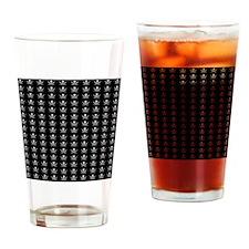 Calico Jacks Pirate Flag Pattern Drinking Glass