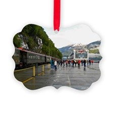 Railway and Cruise Ship Ornament