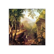 """Asher Brown Durand Kindred  Square Sticker 3"""" x 3"""""""