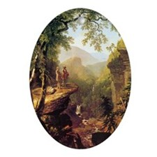 Asher Brown Durand Kindred Spirits Oval Ornament