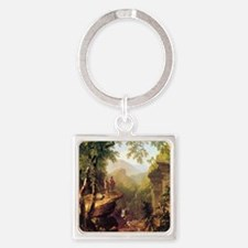 Asher Brown Durand Kindred Spirits Square Keychain