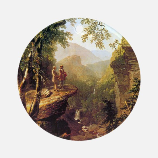 Asher Brown Durand Kindred Spirits Round Ornament