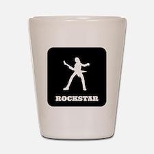 Rockstar Shot Glass