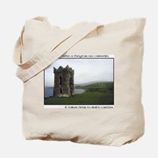Takes Time to Build a Castle. Tote Bag