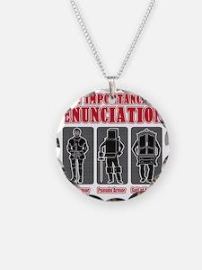 Enunciation Necklace