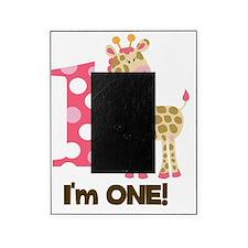 Im one Pink Giraffe Picture Frame