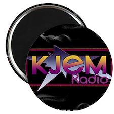 T-shirt KJEM Radio Logo Smoke web Magnet