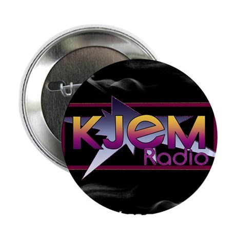 "T-shirt KJEM Radio Logo Smoke web 2.25"" Button"