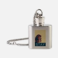 Aesop the Portuguese Water Dog II Flask Necklace