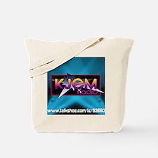T-shirt KJEM Radio Logo Aqua Spotlight we Tote Bag