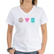 Peace Love Mahjong Shirt
