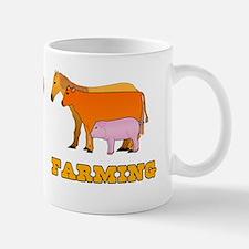 Peace Love Farming Mug