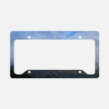 White Pass Mountain License Plate Holder
