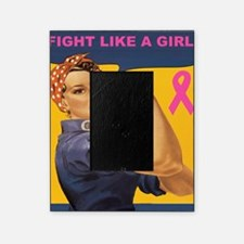 Fight like a girl Picture Frame