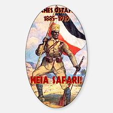 German East Africa T-Shirt Sticker (Oval)