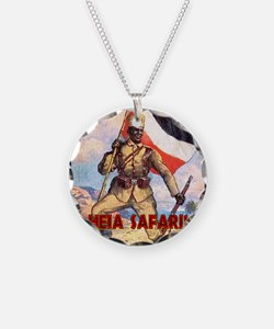 German East Africa T-Shirt Necklace
