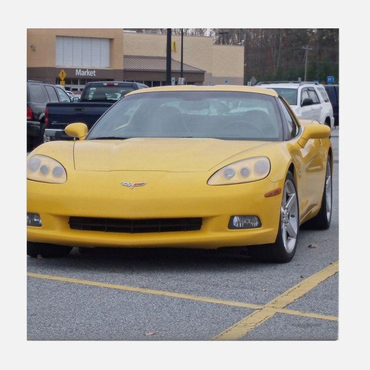 Corvette Tile Coaster