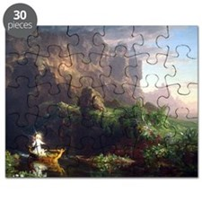 Thomas Cole Voyage Of Life Childhood Puzzle