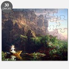 Thomas Cole Voyage Of Life Childhood Puzzle