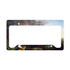 Thomas Cole Voyage Of Life Ch License Plate Holder