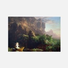 Thomas Cole Voyage Of Life Childh Rectangle Magnet