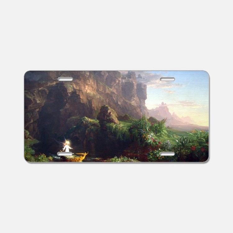 Thomas Cole Voyage Of Life  Aluminum License Plate
